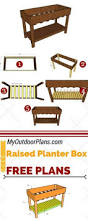 how to build a raised garden bed with legs raised garden beds on