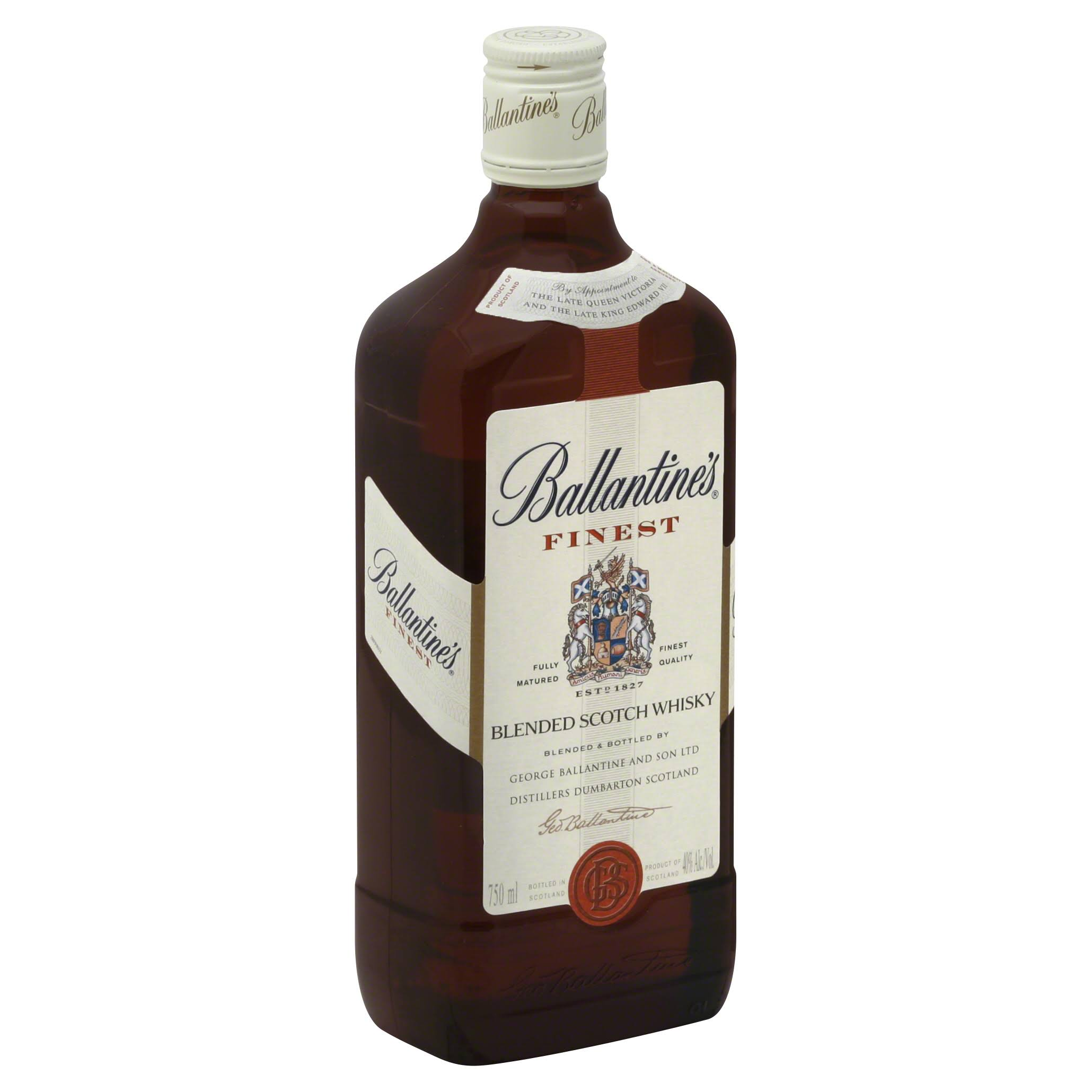 Ballantines Whisky, Blended Scotch - 750 ml