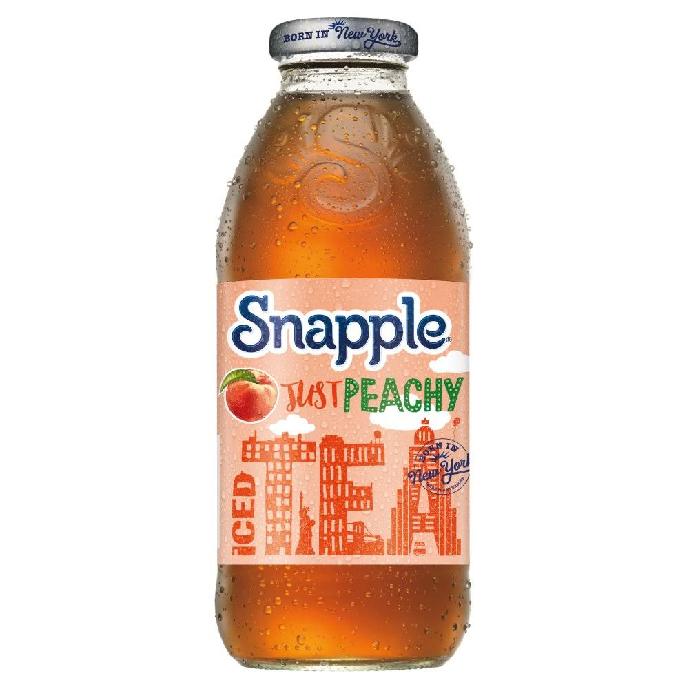 Snapple Peach Iced Tea 473ml