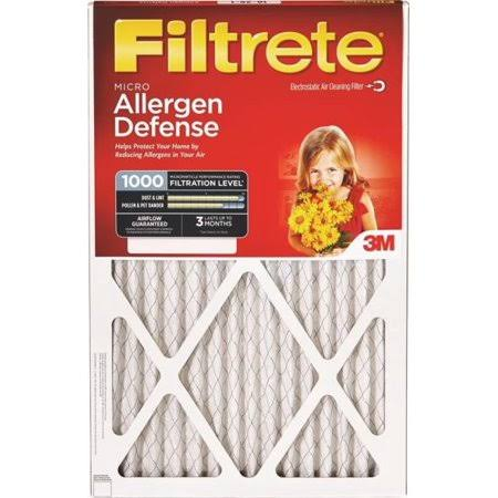 "Filtrete Micro Allergen Defense Air Filter - 20"" x 30"" x 1"", 2pk"