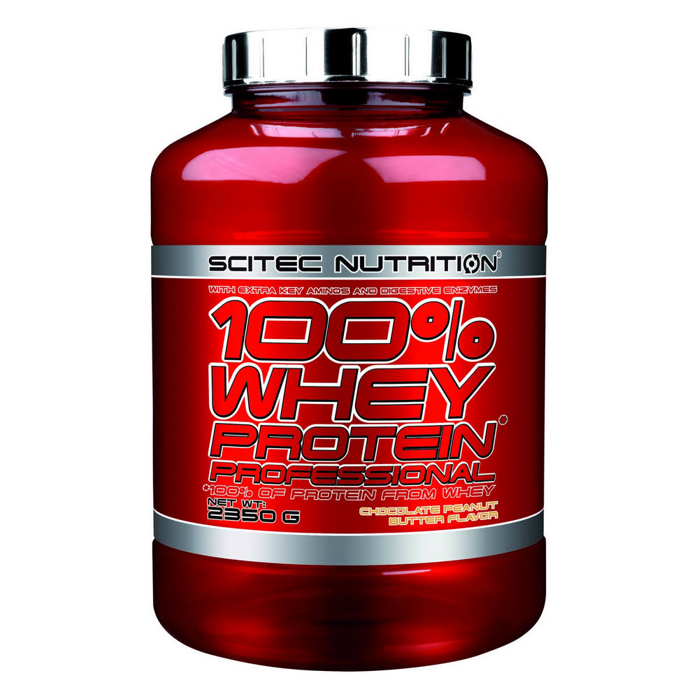 Scitec Nutrition 100% Whey Protein Professional 2350g Chocolate Peanut Butter