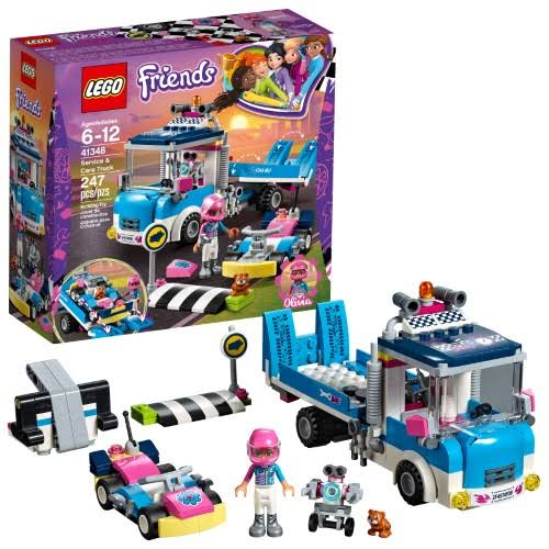 Lego Friends Service Care Truck - 24pcs