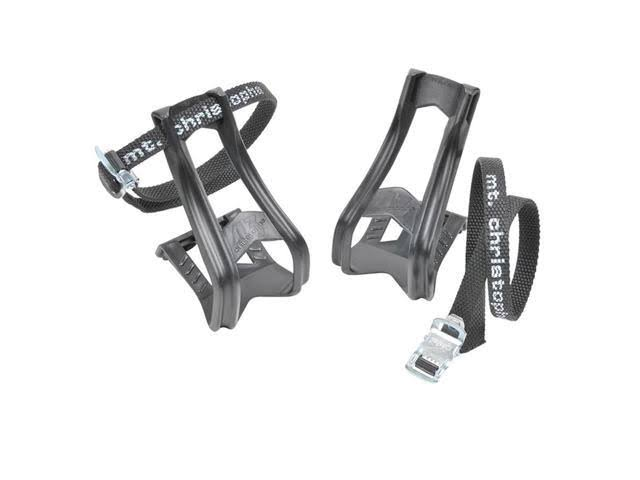 Zefal Mtb Bicycle Toe Clips & Straps - Small/Medium