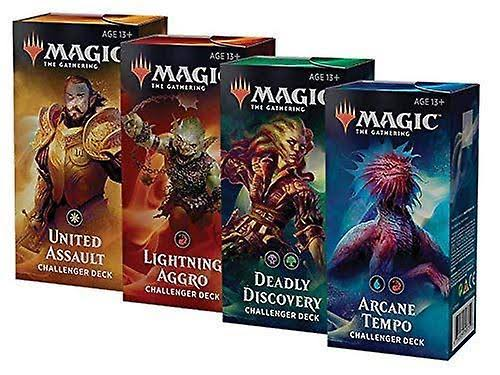 4 x Challenger Decks 2019 - Magic: The Gathering - New