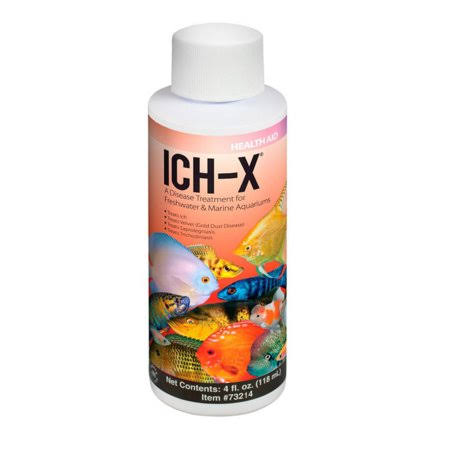 Hikari Aquarium Solutions Ich-X Liquid Treatment Bottle