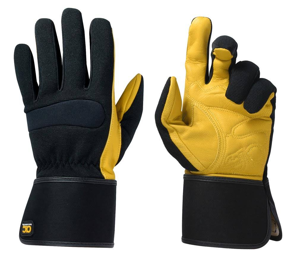 Kuny's Hybrid 270 Top Grain Leather Cuff Gloves - Large