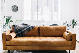 Brown Couch Room Designs by Modern Leather Sofa Ideas For Modern Living Room Hupehome