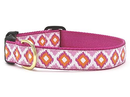 Up Country Pink Crush Dog Collar - X-Small
