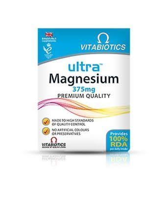 Vitabiotics Ultra Magnesium Tablets - 60ct