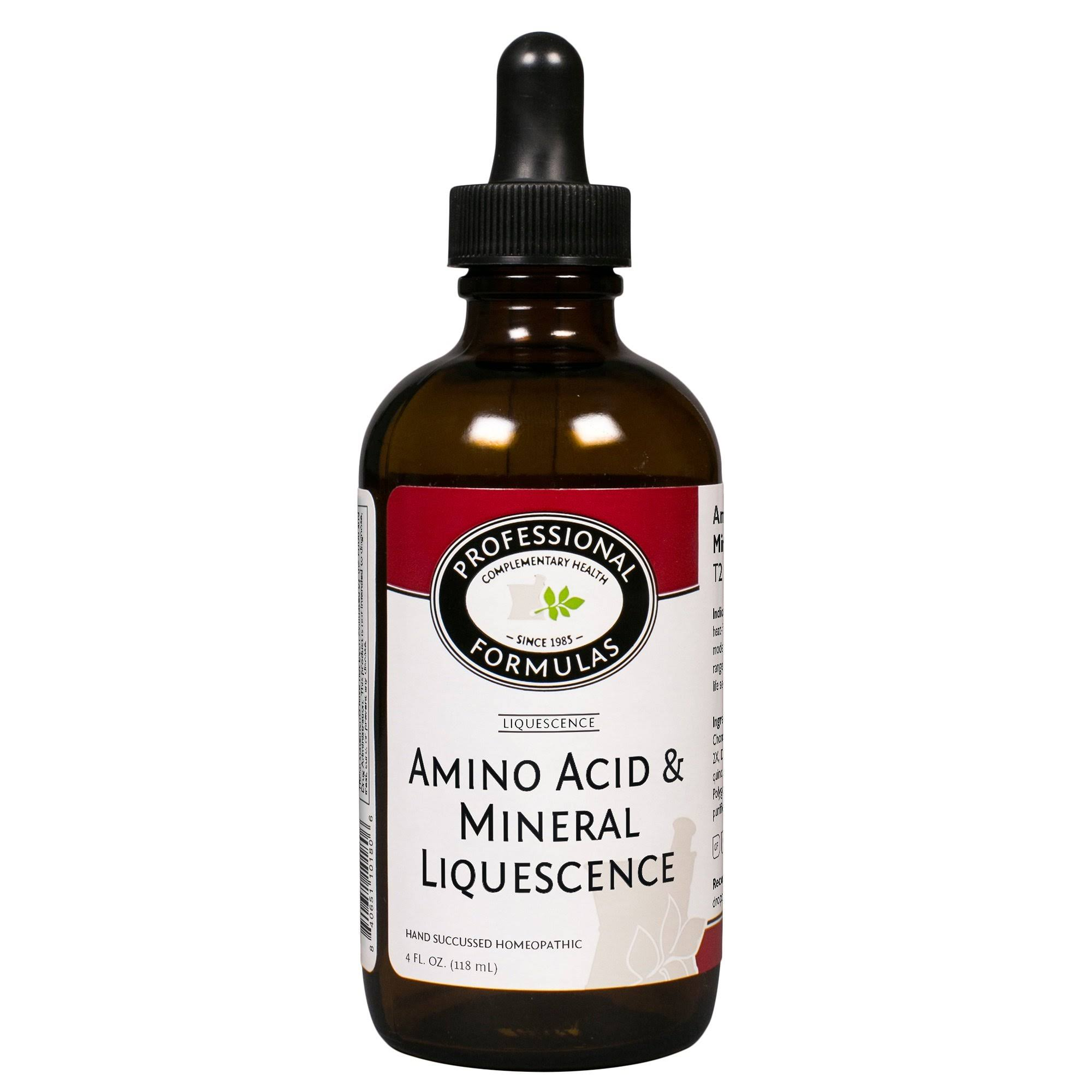 Amino Acid and Mineral Liquescence Professional Formulas 4 Ounces