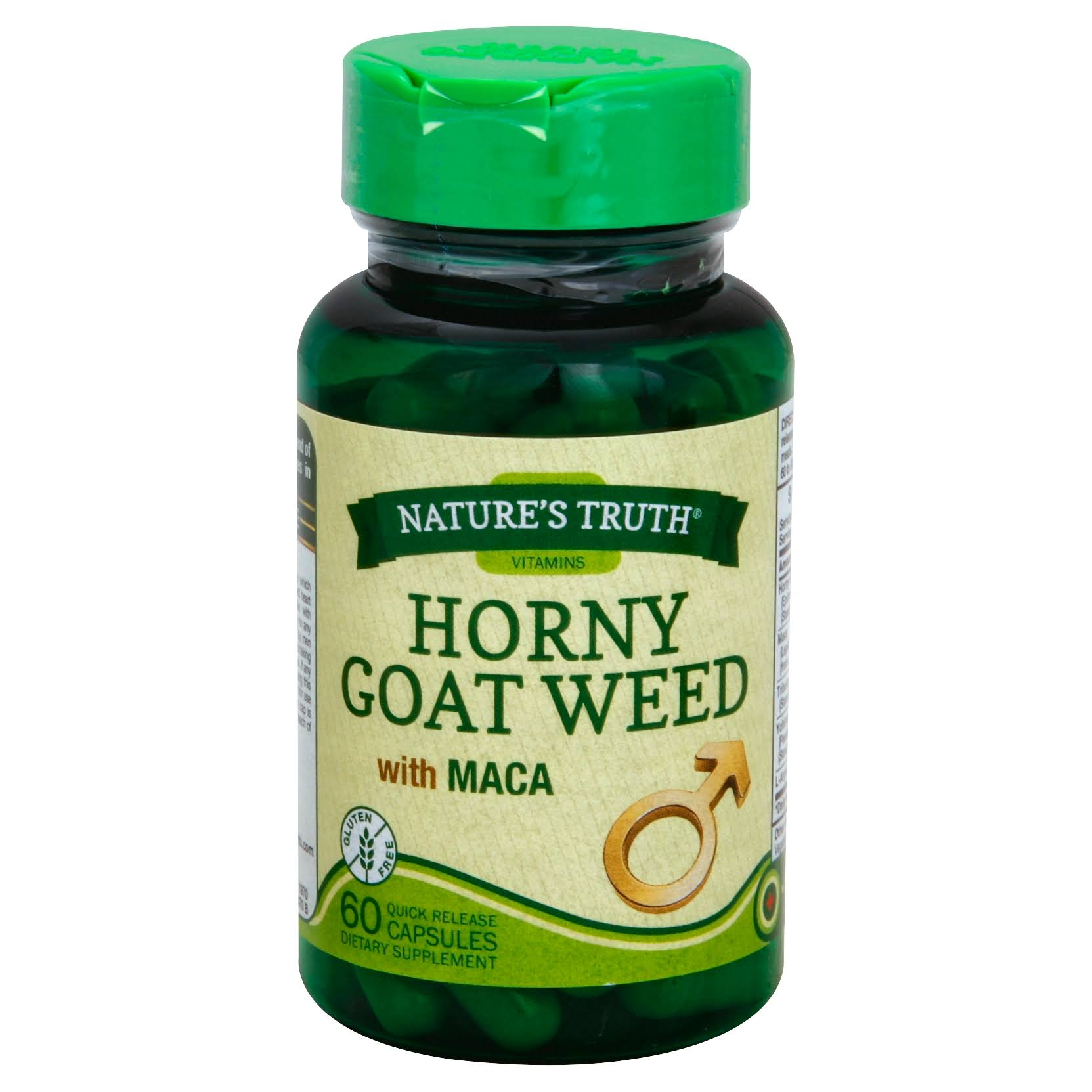 Natures Truth Horny Goat Weed Dietary Supplement - 60ct