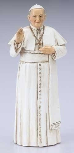 Roman Religious Catholic Church Papacy - Figurine - Small, Pope Francis Figurine