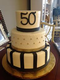 Cake Decoration Ideas For A Man by Black And Gold 50th Birthday Cake Birthday Cakes Pinterest