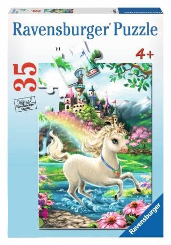Ravensburger Jigsaw Puzzle - 35pcs, Unicorn Castle