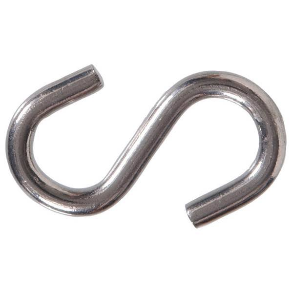 Hillman 322148 Stainless Steel S Hook - 2 1/2""