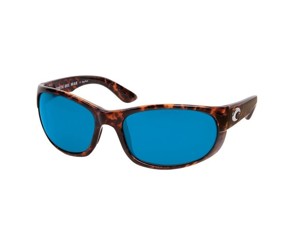 Costa Del Mar Howler Sunglasses - Tortoise, Blue Mirror