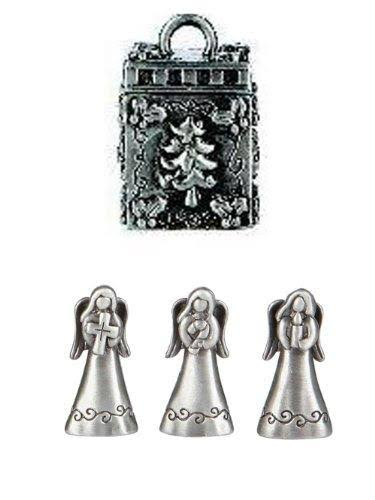 Ganz Prayer Box Trinket Triple Angels Christmas Charm