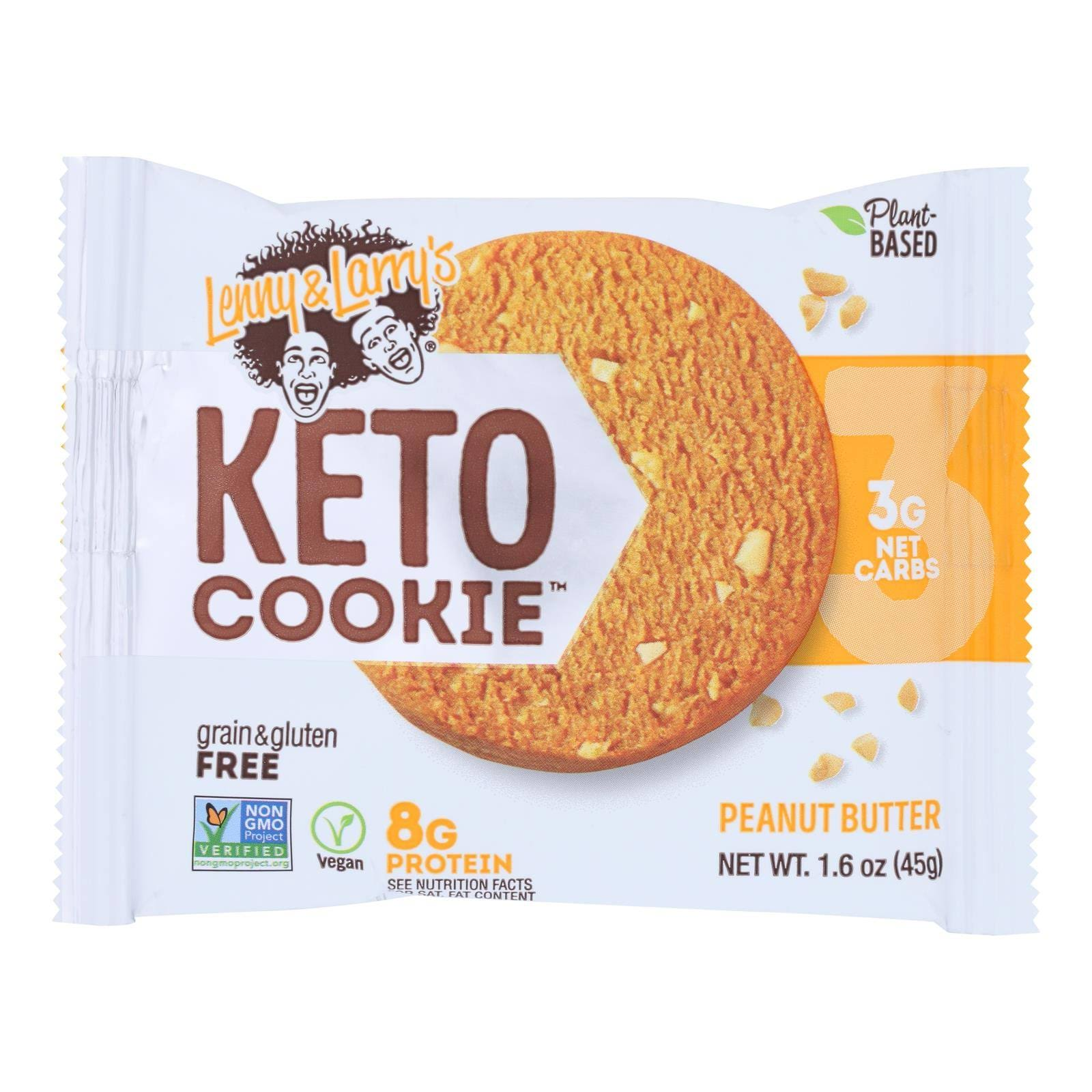 Lenny & Larry's Keto Cookie, Peanut Butter - 1.6 oz