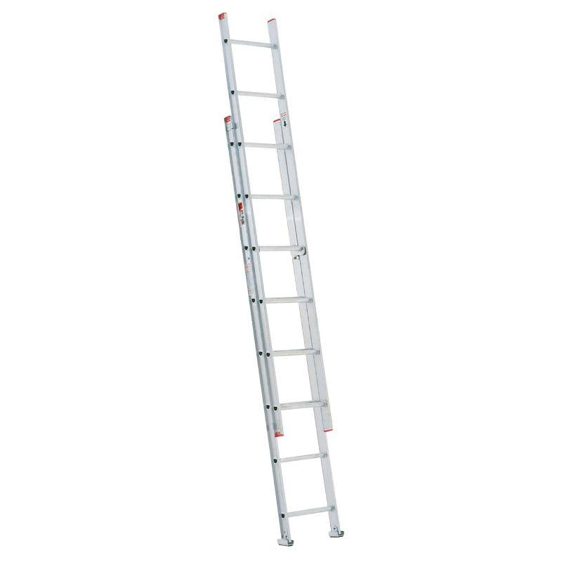 Werner D Rung Extension Ladder - Aluminum, 16'