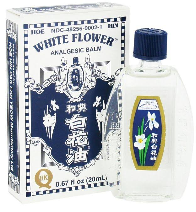 White Flower Oil Analgesic Balm Relief - 20ml