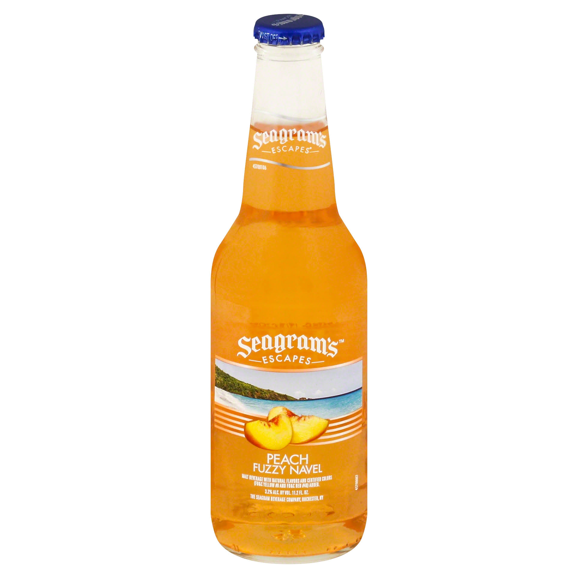 Seagram's Escapes Flavored Cooler - Peach Fuzzy Navel, 12oz