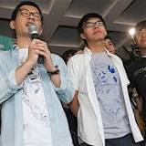 2014年香港反政府デモ, 実刑, 香港, 黄之鋒, 羅冠聡, 判決