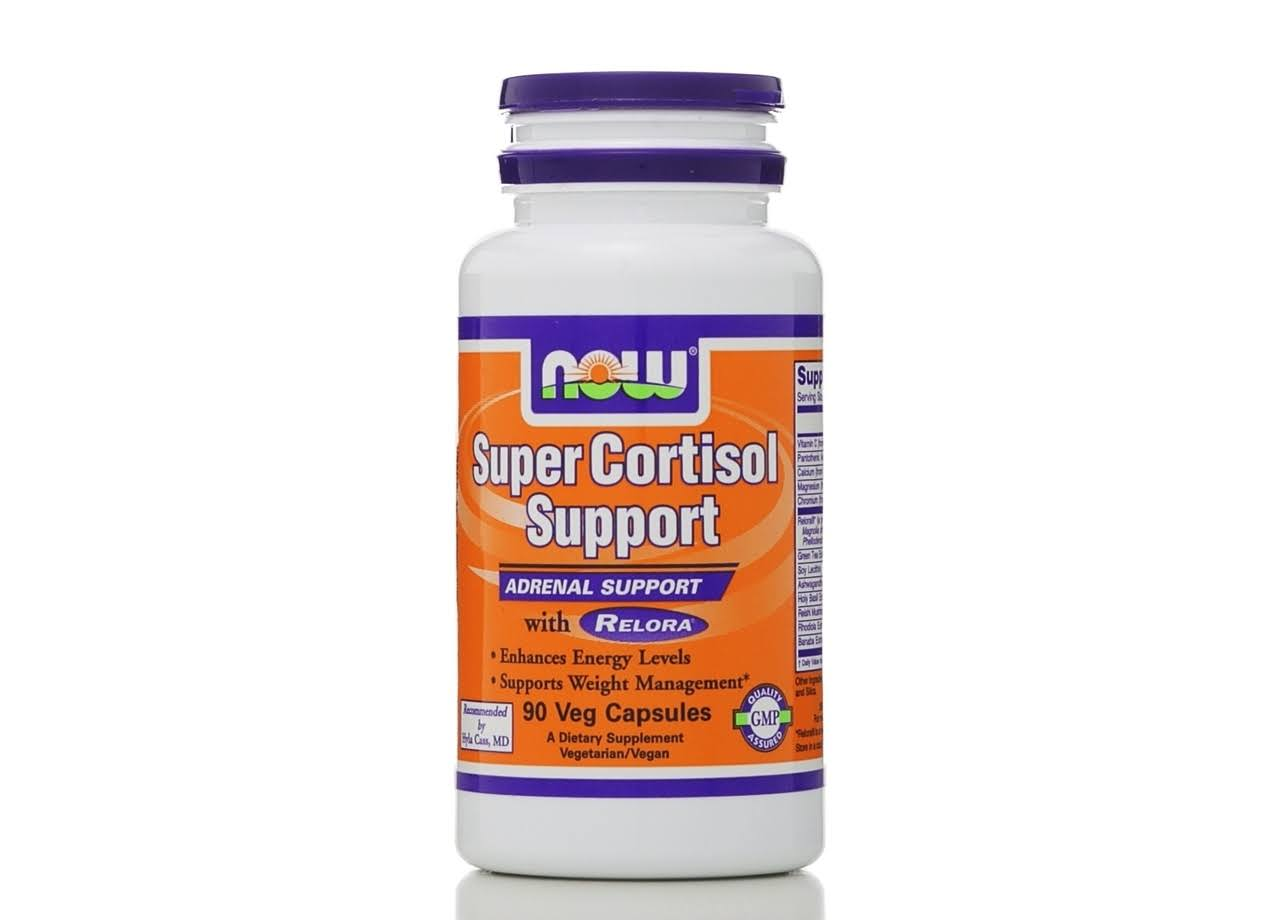 Now Foods Super Cortisol Support With Relora - 90 Veg Capsules