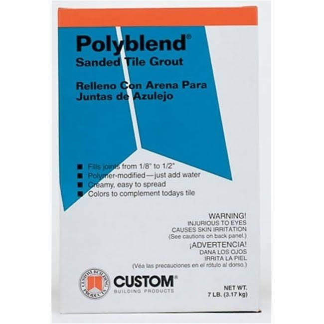 Custom Building Products Polyblend Sanded Grout - Tobacco Brown