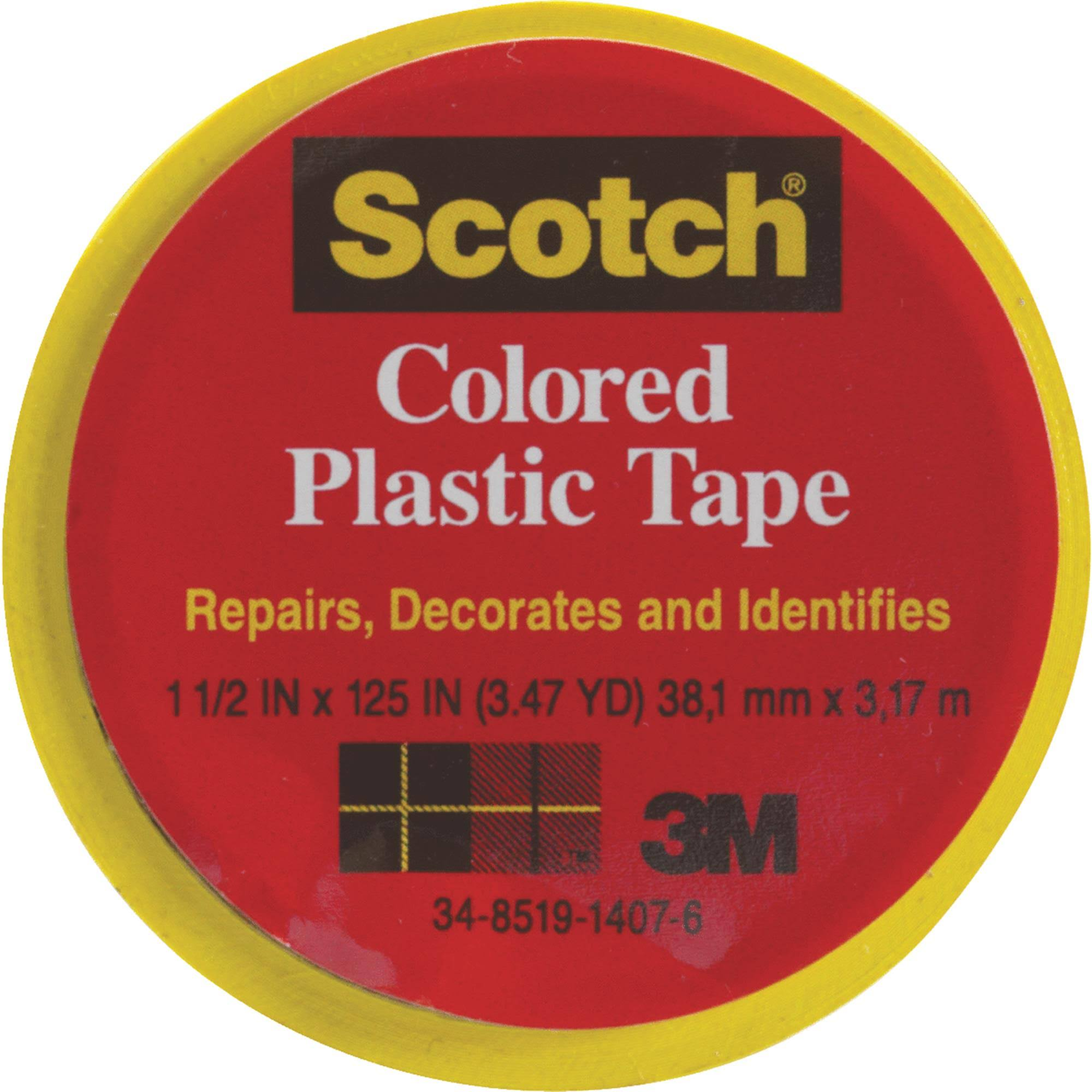 3M Scotch Plastic Tape - 19mm x 3.17m