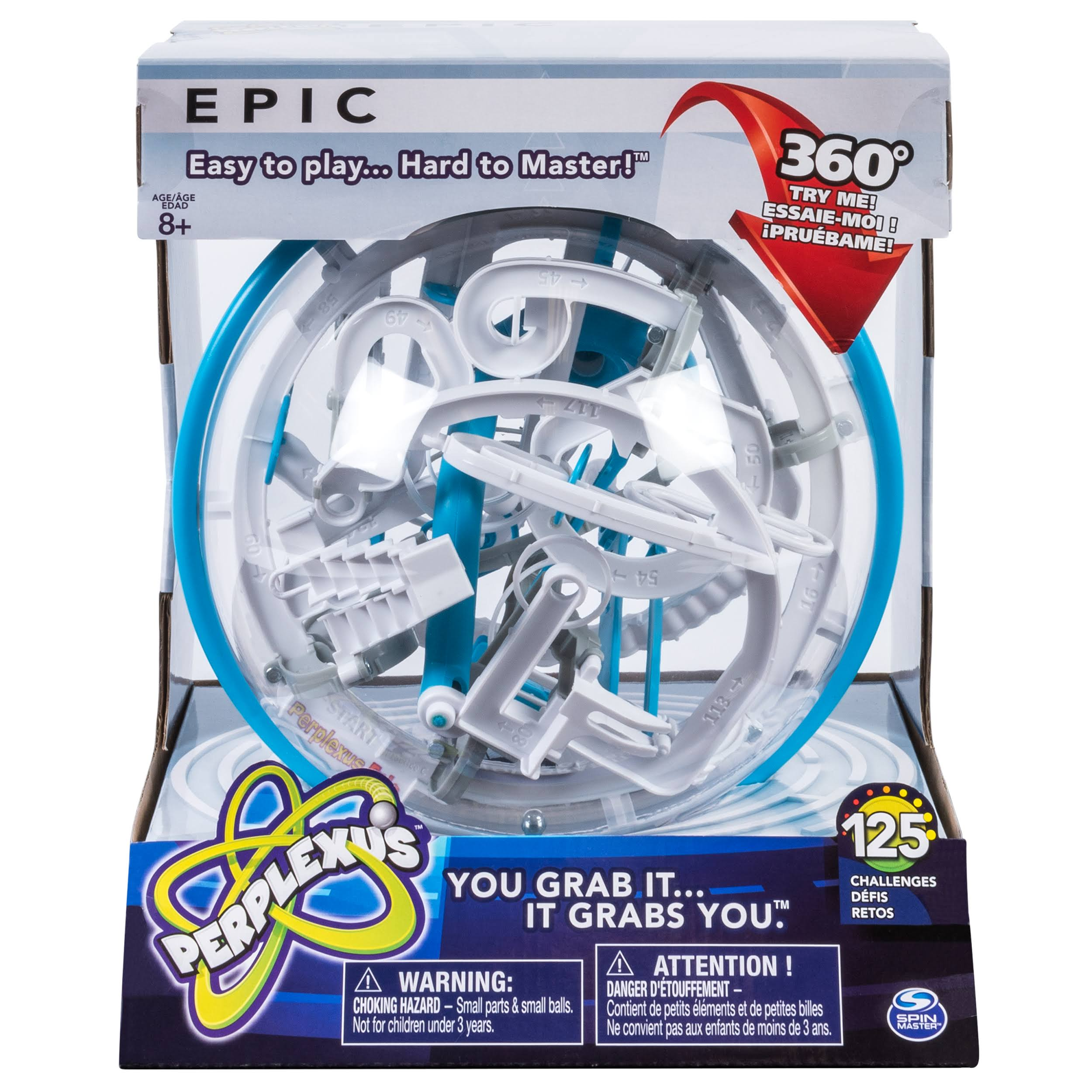 Spin Master Perplexus Epic Challenging Interactive Maze Game - with 125 Obstacles