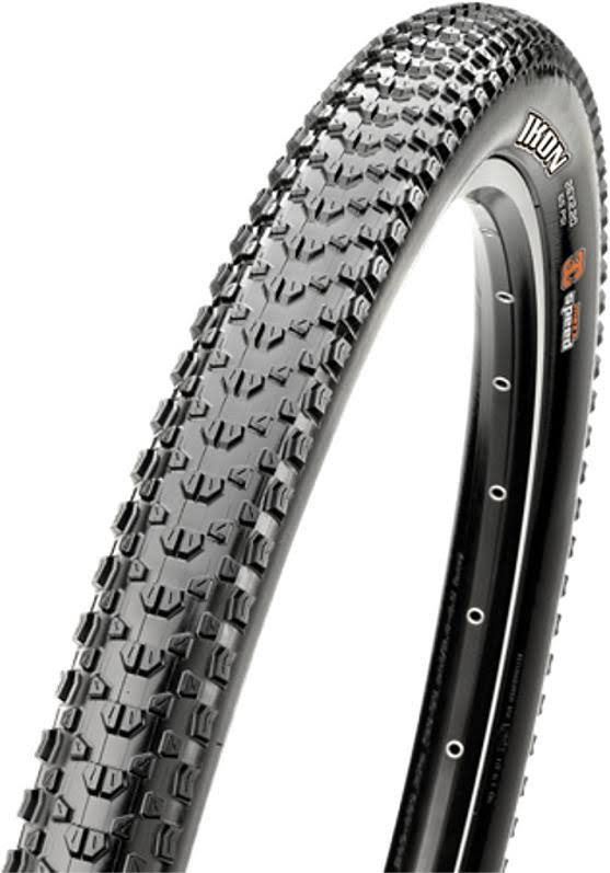 "Maxxis Ikon 3C EXO Tubeless Ready Folding Mountain Bicycle Tire - Black, 26"" x 2.2"""