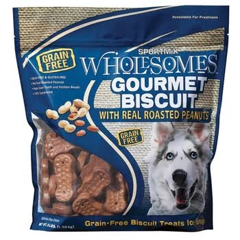 Sportmix Premium Select Gourmet Biscuit with Roasted Peanut Dog Treats