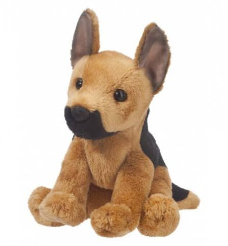 Douglas Cuddle Toys 1559 Prince German Shepherd Plush Toy - 5""