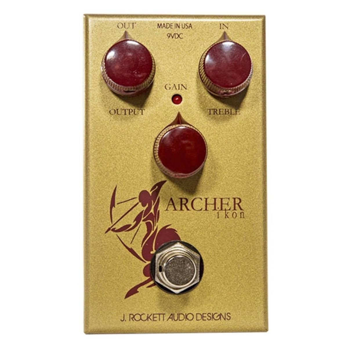 J Rockett Audio Designs Ikon Archer Overdrive and Boost Guitar Effects Pedal