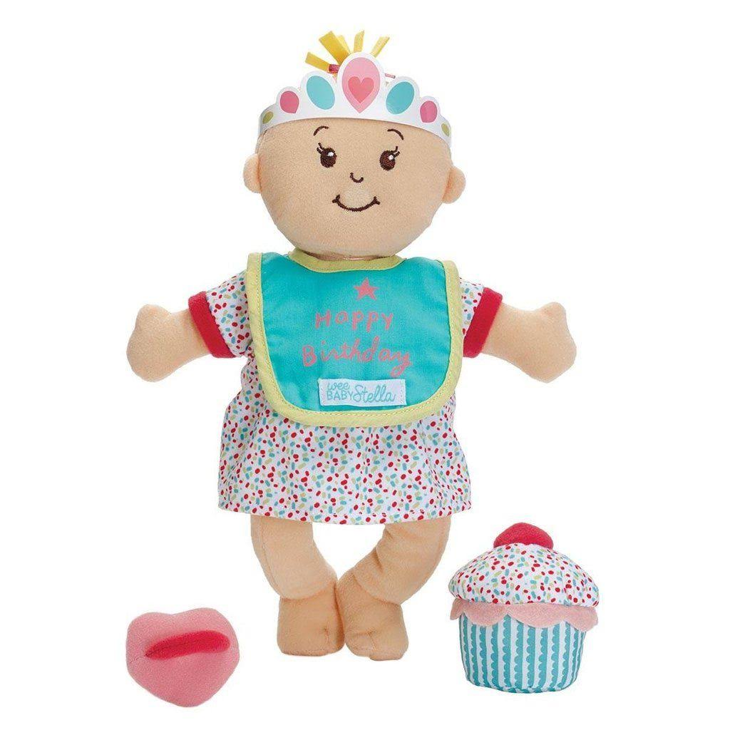 Manhattan Toy Wee Baby Stella Sweet Scents Birthday Party Set