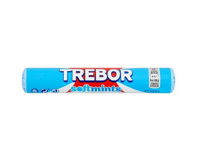 Trebor Softmints Mints Roll - Spearmint, 44.9g