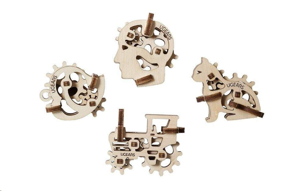Ugears U-Fidget Tribics, Mechanical Models, 5+