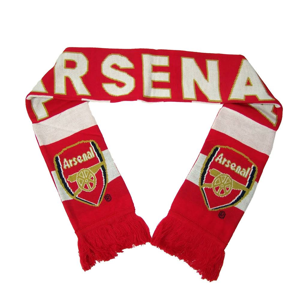 Arsenal FC Official Premier League 64 inch Scarf by Rhinox