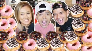 Krispy Kreme Halloween Donuts Calories by 10 000 Calories Of Krispy Kreme Donuts In 10 Min Ft Laurdiy