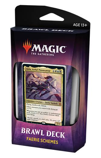 Magic The Gathering - Throne of Eldraine - Brawl Deck Display (8)