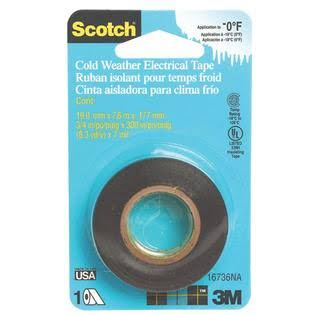 3M Scotch Cold Weather Electrical Tape - 3/4""