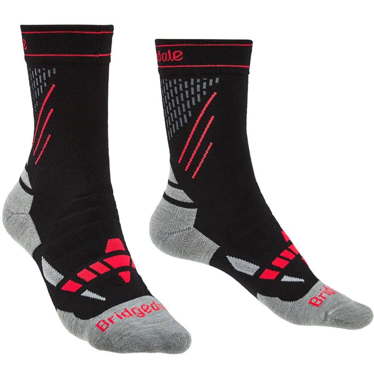Bridgedale Women's Nordic Race Ski Socks - Black