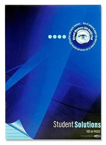 Student Solutions Refill Pad