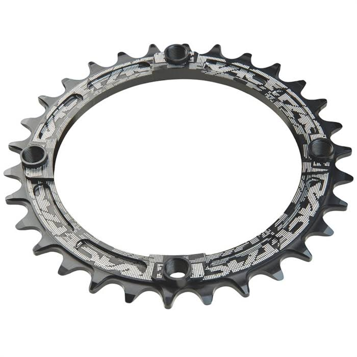 Race Face Narrow Wide Single Ring - 30T, 104mm, Black