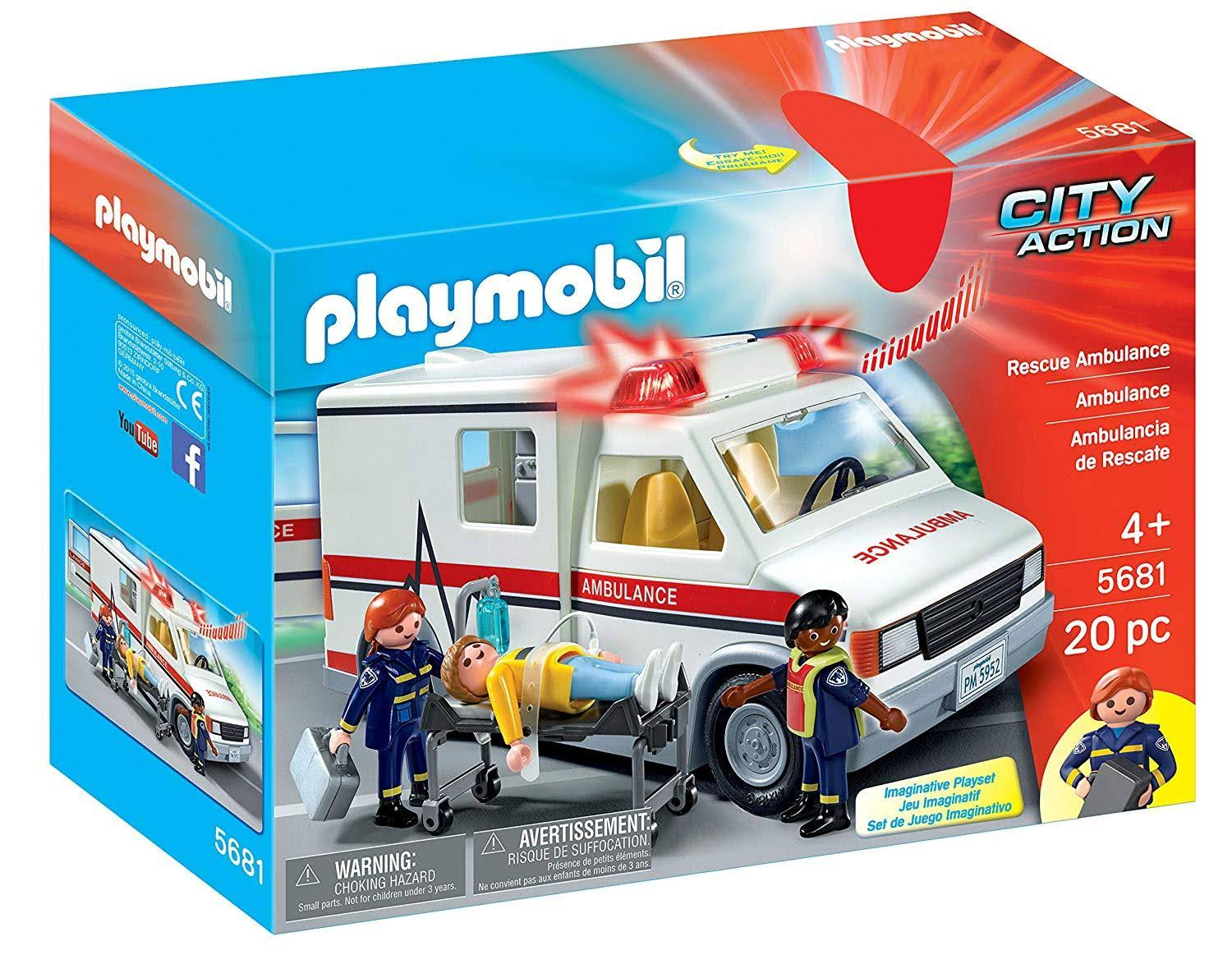 Playmobil 5681 City Action Rescue Ambulance