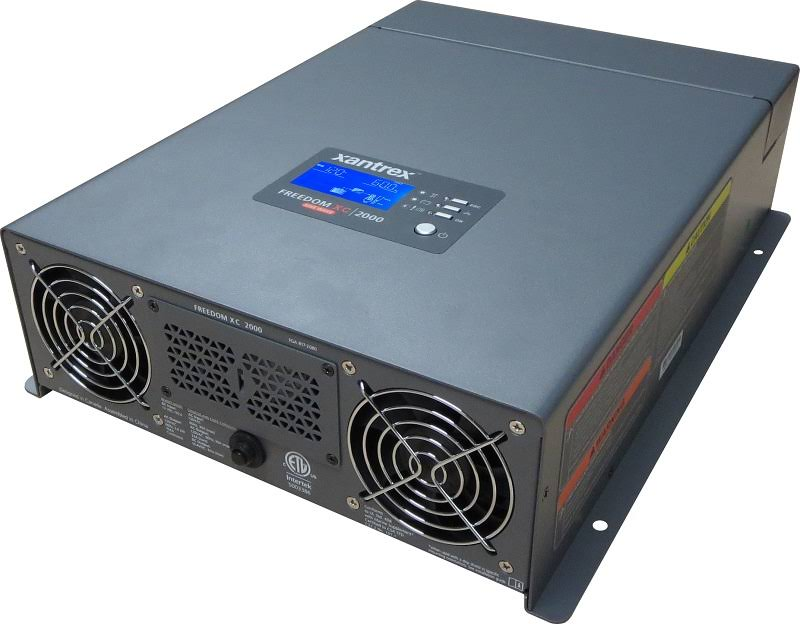 Xantrex Freedom XC 2000 True Sine Wave Inverter/Charger(2000W/80A) 817-2080