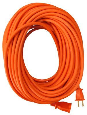 Master Electrician 02209ME Round Vinyl Extension Cord - Orange, 100'