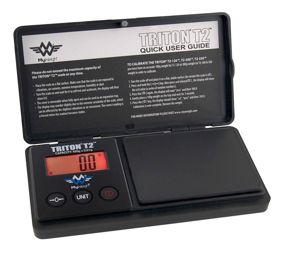 My Weigh SCMT550 Triton 2 Digital Pocket Weighing Scale - 550g x 0.1g
