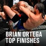 Check out Brian Ortega's top finishes ahead of UFC Fight Island 6
