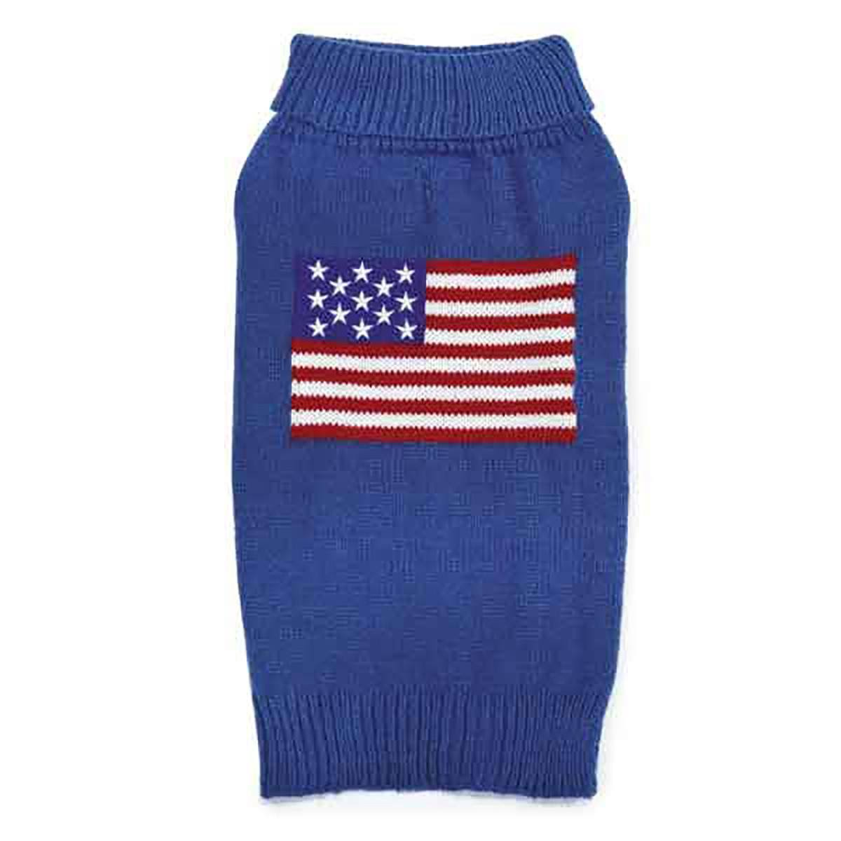 Zack & Zoey Elements American Flag Sweater - Small